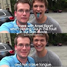 Ansel Elgort is the cutest person in the world and if you want to protest go sit yourself down in the corner
