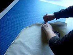 Explication avec vidéo pour coudre un ourlet arrondi. Pop Couture, Techniques Couture, Ldr, Patterns, Sewing, Youtube, Haute Couture, Tuto Couture Facile, How To Sew
