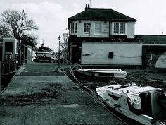 Old House At Home Queenborough Train, House, Home, Haus, Houses