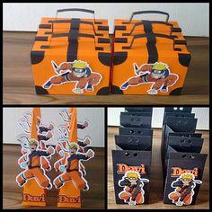 Tema Naruto   #biapersonalizados #personalizados #lembrancinhas #lembrancinhaspersonalizadas #maletas #convites #campogrande #festanaruto