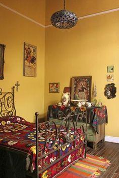 The House - Lucas Risé, Sans Parapluie. Farmhouse Bedroom Furniture, Farmhouse Style Bedrooms, Home Bedroom, Bedroom Ideas, Bedroom Styles, Bedroom Layouts, Bedroom Inspo, Master Bedroom, Mexican Bedroom