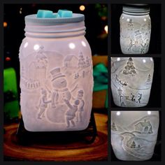 """Scentsy's November 2015 Warmer of the Month """"Let it Snow"""" https://madisonpatrick.scentsy.us/"""