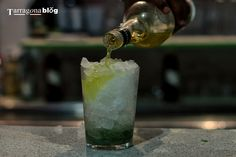 Marry Tarragona's favourite liqueur Chartreuse with a Mojito and you get a Chartreusito!