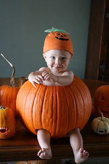 baby in a pumpkin photo Pumpkin Photos, A Pumpkin, Photo Ideas, Baby Kids, Halloween, Fall, Photography, Shots Ideas, Autumn