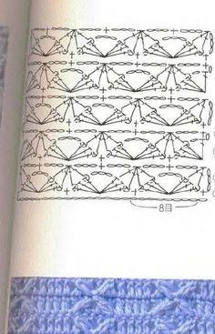 #ClippedOnIssuu da Karmitta 62 Plaid Crochet, Crocheting Patterns, Stitches, Stitching, Crocheting, Manualidades