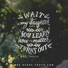 Pink Ruth 3:18