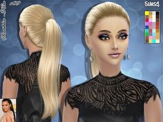 36 colors Found in TSR Category 'Sims 4 Female Hairstyles'