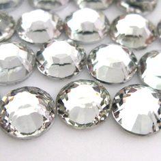50000pcs  crystal clear 29# 2.5mm Resin rhinestone flatback  good  quality and  very shine