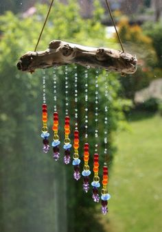 Maybe I'll work on making cool suncatchers out of beads and driftwood... ~~ Houston Foodlovers Book Club