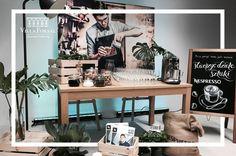 New flavour of Nespresso coffee - catering, food, decoration, interior design. Catering Food, Food Decoration, New Flavour, Warsaw, Nespresso, Conference, Coffee, Interior Design, Furniture