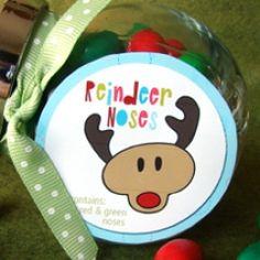 Reindeer Noses tag