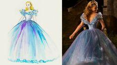 Vestido da nova Cinderela tem mais de 250 metros de tecido e 10 mil cristais Swarovski | Disney Babble Brasil