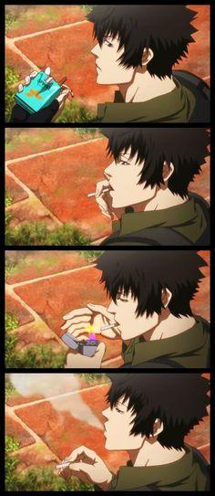 Psycho-Pass | Shinya Kogami Hot Anime Boy, Cute Anime Guys, I Love Anime, Me Me Me Anime, Anime Eyes, Anime Manga, Ginoza Nobuchika, Psycho Pass, Japanese Illustration