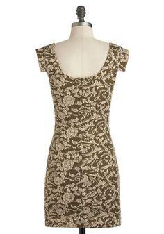 Olive Your Lovin' Dress, #ModCloth