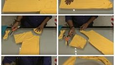 No Sew Handbag Out of Your Old T-Shirt