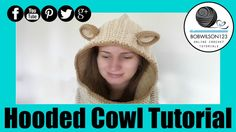 Crochet Hooded Cowl Tutorial
