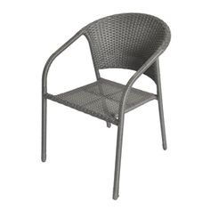 tribu, outdoor, stackable dining mood chair. | [furniture