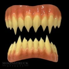 Zombie Dental Colors Realistic Cosplay Vampire Teeth Rotten Paint Tooth Fangs
