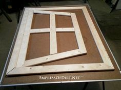 How to make your own optical illusion garden mirror. There's a simple trick that makes this project much easier than it looks! diy garden projects DIY Optical Illusion Mirror for Your Home or Garden Diy Garden Projects, Garden Crafts, Diy Garden Decor, Garden Ideas, Backyard Ideas, Garden Mirrors, Garden Windows, Mirrors In Gardens, Outdoor Mirrors Garden