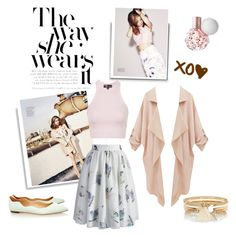 """""""Aussie Glamour: Rose Bryne"""" by arissaann ❤ liked on Polyvore featuring Loeffler Randall, Topshop, Chicwish and River Island"""