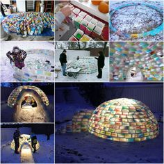 Creative Ideas - How to Build a Rainbow Igloo Using Milk Cartons | iCreativeIdeas.com Follow Us on Facebook --> https://www.facebook.com/iCreativeIdeas