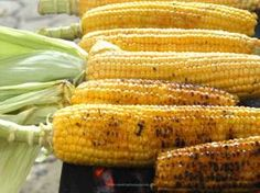 Utah State Fair; only days away! Roasted Corn. Who doesn't love good, roasted corn?