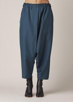 Issey Miyake  Crossover Pants (Dark Green)