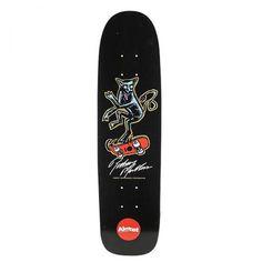 Almost Freestyle Mutt R7 Skateboard Deck, color: Black, category/department: skate-decks