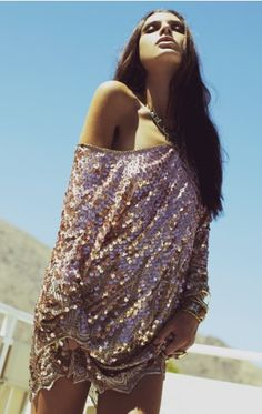sequin slouch #love
