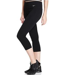Nike Pants, Legend 2.0 Dri-FIT Cotton-Blend Capri Leggings - - Macy's