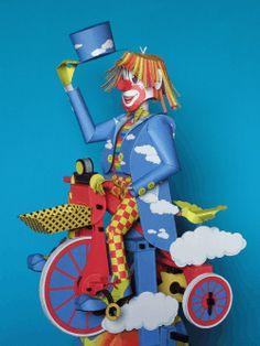 Clown On A Bike