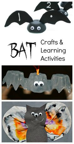 Fiction and nonfiction bat books for kids of all ages. Also includes activities and crafts for learning about bats. Bat Activities For Kids, School Age Activities, Halloween Activities, Halloween Crafts For Kids, Halloween Fun, Holiday Crafts, Kids Crafts, Kindergarten Activities, Preschool Activities