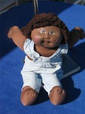 Xavier Roberts Cabbage Patch Kid 1985 Black African American Doll Girl Coleco