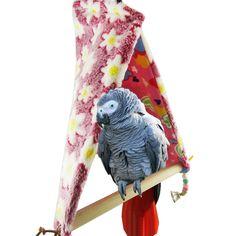 Parrot Hanging Bed Hanging Bed Hanging Bed Parrot Winter Cotton Nest Cotton Nest Warm Bird Hammock Tent Clearance Price Home & Garden Bird Cages & Nests