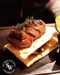 Steak is on the menu at the newly opened Bar and Block Wimbledon. With a wide menu featuring many different cuts you will love this meat extravaganza. Garlic Spinach, Beef Wellington, I Have Done, Wimbledon, Places To Eat, Truffles, I Foods, Steak, Food Photography