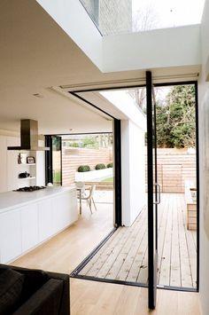 Black and White Kitchen Dreams /