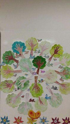 Earth Day, Pre School, Green Day, Painting, Montessori, Macrame, Chart, Tree Day, Environmental Education