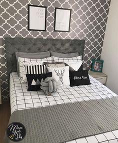 Enfim, quarto arrumado, tudo no seu lugar! Pink Bedroom Design, Master Bedroom Interior, Diy Bedroom Decor, First Apartment Decorating, Living Room Decor Cozy, Loft Room, Woman Bedroom, Easy Home Decor, Dream Rooms