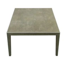 Stanton Coffee Table in Shagreen and Bone