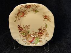 "Johnson Brothers Harvest Time Square Soup Bowl 7"" - NICE! #JohnsonBros"
