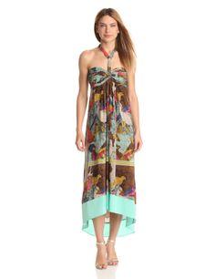 Amazon.com: Twelfth Street by Cynthia Vincent Women's Scarf Hem Harness Dress: Clothing