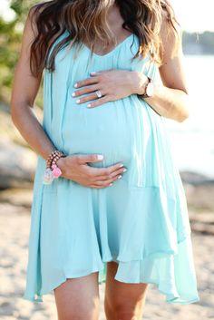 Forever 21 Chiffon Trapeze Dress, Maternity Style, Maternity Fashion