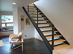 Cable railing stairs