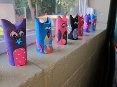 "toilet paper roll ""owls"" :)"