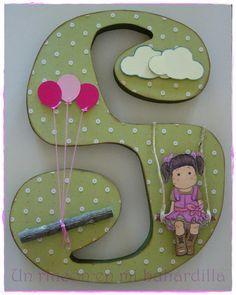Letra decorada / Altered letter
