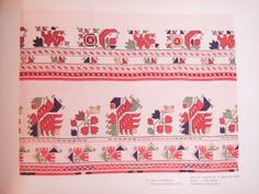 Bulgarian Embroidery: Skirts - Sofia region Поли от Софийско