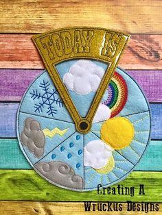 $6 Weather Wheel Board