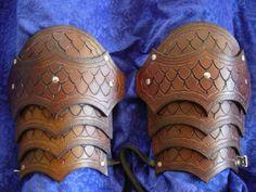 Shoulder Armor leather