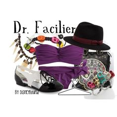 Dr. Facilier, created by lalakay on Polyvore disney