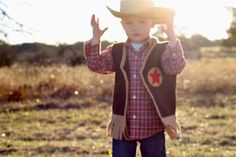 Who has a little cowboy who would love to dress up in this?